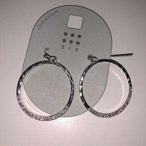 Six Hoop Earrings
